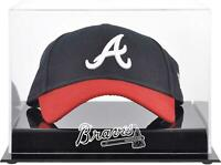 Atlanta Braves Acrylic Cap Logo Display Case - Fanatics