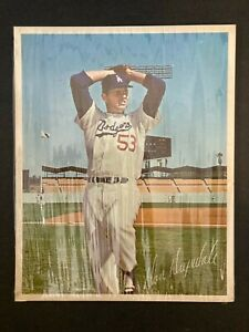 vintage LA Dodgers photo card pack set 22 Tommy John Drysdale SEALED 8x10 photos