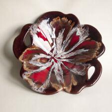Red Mid-Century Modern Art Pottery