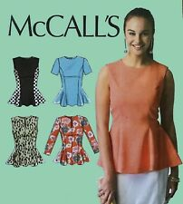 McCall's 6896, Sewing Pattern, Ladies Top, Size 8, 10, 12, 14, 16