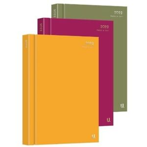 2022 A4, A5, A6 Diary Week to View & Page a Day Hardback Casebound Desk Diaries