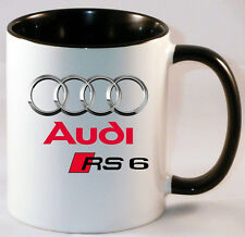 AUDI RS6  CAR ART MUG GIFT CUP