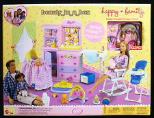 Happy Family Nursery Playset Only for Barbie Ken Doll Midge Alan Baby Ryan EXC