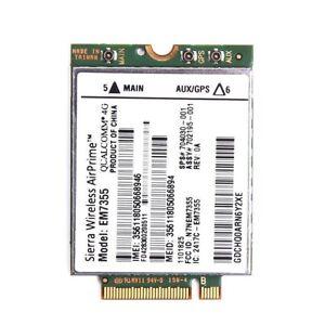 HP lt4111 820 G1 gobi5000 Sierra EM7355 WWAN NGFF 4G LTE Module Card 704030-001