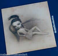 MARK RYDEN DRAWING SCARECROW ALBUM ART 2005 LIMITED EDITION OF 1000