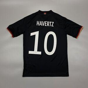 Germany HAVERTZ 2020 2022 EURO Away Football Soccer Shirt Jersey Adidas EH6114