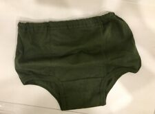 3 pairs original new Russian army soldiers underwear olive briefs all sizes