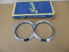 NOS BUICK 1958 CHROME HEADLAMP BEZEL PASSENGER SIDE   5