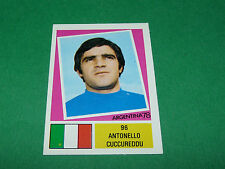 96 A. CUCCUREDDU ITALIA ITALIE AGEDUCATIFS FOOTBALL ARGENTINA 78 WM 1978 PANINI