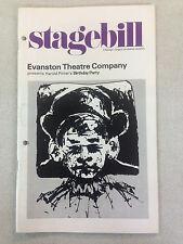 "1976 Evanston Theatre Compnay Stagebill - Harold Pinter's ""Birthday Party"""
