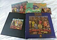 THE BEATLES - SGT. PEPPER CD HMV LIMITED EDITION NUMBERED BOX SET BEA CD25/3
