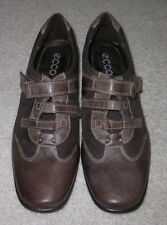 ECCO Womens Brown Leather Loafer Shoes 38 US 7.5 / 8