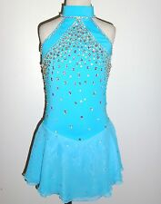CUSTOM MADE TO FIT FIGURE SKATING/BATON TWIRLING COSTUME