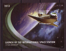PAPUA NEW GUINEA 2013 SPACE STATION MINIATURE SHEET UNMOUNTED MINT, MNH