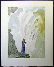 SALVADOR DALI Original Color Woodcut DIVINE COMEDY Comédie 1960 Ecstatic Visions