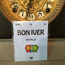 Bon Iver i,i 2019 promo 1.25 inch Enamel pin button badge Alt Rock
