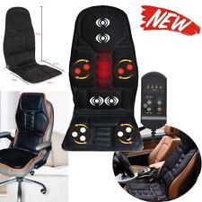 8 Mode Massage Car Seat Cushion Back Relief Chair Pad Heated Lumbar Massager ZYL