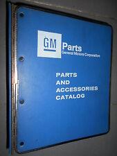 GM BUICK - Skylark Riviera Sommerset 1985 à 1988 : parts catalog
