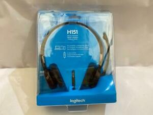 Logitech H151 Headset Head-band 3.5 mm connector Black