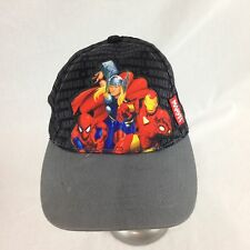 Marvel Superheroes Baseball Cap Hat Spider-Man Thor Iron Man Kids Adjustable