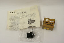 Nikon eye piece magnifier with box and instructions  #1
