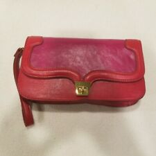 NWT Pink and Red Wristlet/Clutch