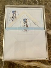 VTG AMERICAN GREETINGS HOLLY HOBBIE STATIONERY SET BOX COMPLETE UNUSED 20 SHEETS