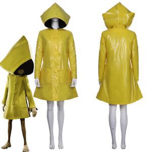 Little Nightmares 2 Heroine 6 Six Cosplay Costume Coat Hoodie Jacket Only Outfit