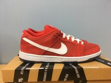 9004024cb1dd Nike SB Dunk Low Supreme Challenge Red White Ice Blue 304292-614 Size 9.5