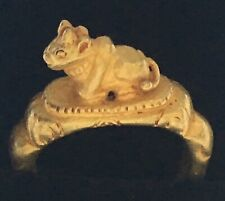 Antique Finger Ring 22 Karat Gold 5.9 grams Rare Yellow Gold