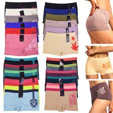 37c62c1e0027 ATB LP0224SB6PCS Seamless Boyshort Women's Panties, Size 6