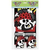 PIRATE FUN PARTY PACK FOR 8 TABLE DECORATION PARTY SUPPLIES