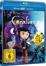 CORALINE (Blu-ray 3D + Blu-ray Disc) NEU+OVP