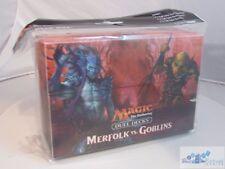 MTG MERFOLK VS. GOBLINS DUEL DECK BOX COMBO PACK ULTRA PRO CARD BOX
