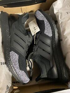 Adidas Ultra Boost 1.0 DNA Men's size 12 Black White Oreo Tip $180