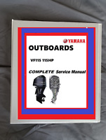 Yamaha VF115 115HP  Outboard boat motor service repair workshop manual