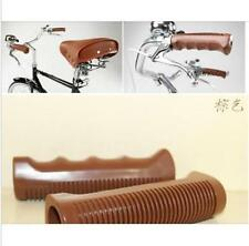 Bicycle vintage slams - ogk vintage bicycle grips Classic handlebars Brown