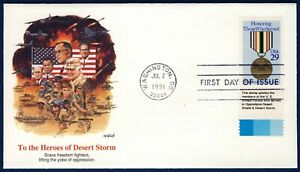 US 1991 Desert Shield/Storm (2551) . Fleetwood First Day Cover