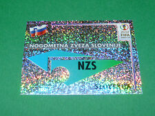 N°116 BADGE NZS SLOVENIJA PANINI FOOTBALL JAPAN KOREA 2002 COUPE MONDE FIFA WC
