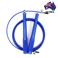 High Speed Steel Wire Adjustable Jump Rope Gym Exercise Fitness Boxing Training