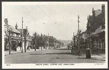 More details for craig-y-don, llandudno, conwy. mostyn street looking east. vintage real photo pc