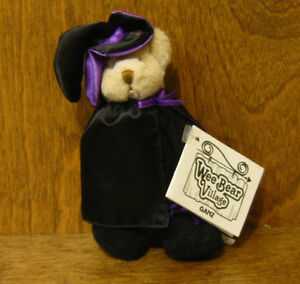 """Ganz Wee Bear Village #PH2993 ESMERALDA, 5"""" removeable clothes From Retail Store"""
