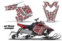 Sled Graphics Kit Decal Sticker Wrap For Polaris Pro RMK Rush 11-16 URBAN CAMO R