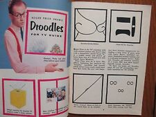 1954 TV Guide(ROGER PRICE/DROODLES/BETTY ANN GROVE/MERV GRIFFIN/DOROTHY ABBOTT