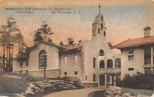 Mt McGregor New York Metro Sanatorium Chapel Antique Postcard K52998