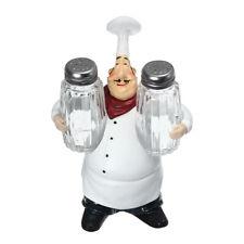Épices Bottles Restaurant Resin Chef Cartes Cafe Accueil Cuisine Statue Ornement