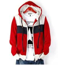 Men's hoodies hooded sweater coat zipper Sweatshirts  korean slim jacket outwear