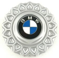 "Genuine BMW E24 BBS satin silver 15"" alloy wheel centre cover cap. OEM.  G3"