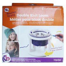 Kb Knitting Board Double Knit Loom Rotating 11 pcs