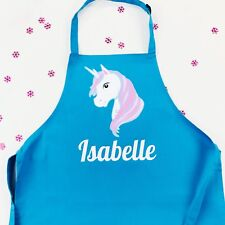 Personalised Magical Unicorn Apron, Baking Gift in Adult & Children's sizes